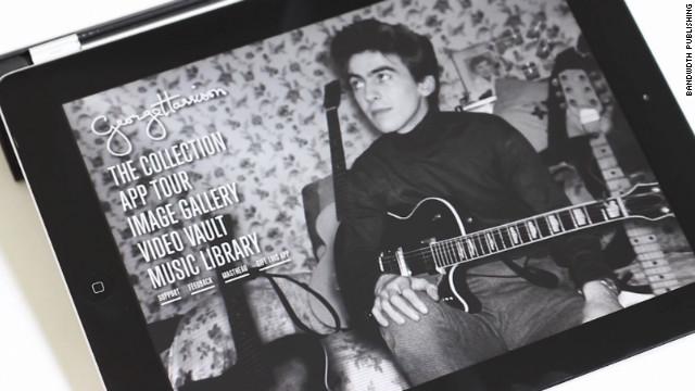 Conoce la colección de guitarras de George Harrison a través del iPad