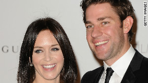 Emily Blunt and John Krasinski.