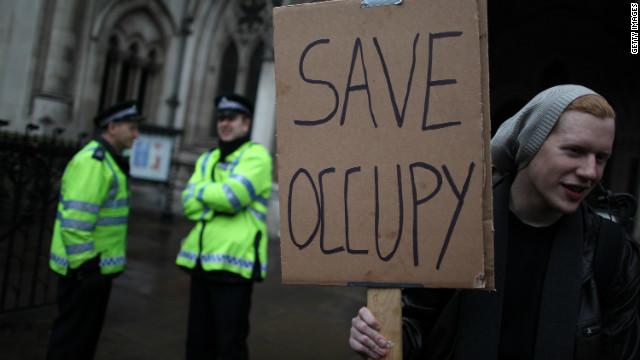 Los indignados de Londres pierden la batalla legal para evitar el desalojo