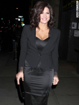 Gina Carano attends a screening in New York.