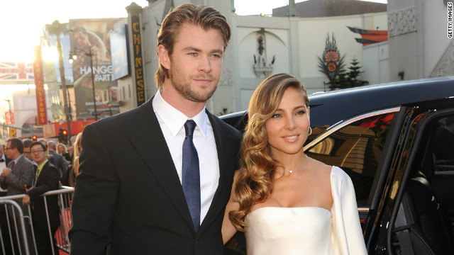 Baby on board for Chris Hemsworth and wife Elsa
