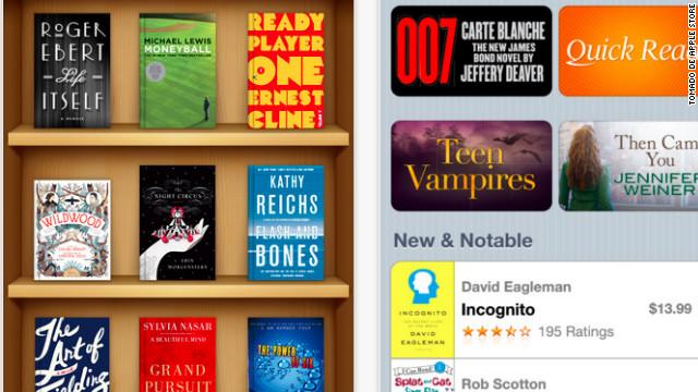 """Apple lanza iBooks 2 para """"reinventar"""" los libros de texto"""
