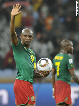But another of the continent's biggest stars, four-time African footballer of the year Samuel Eto'o, will not be at the tournament after Cameroon failed to qualify.