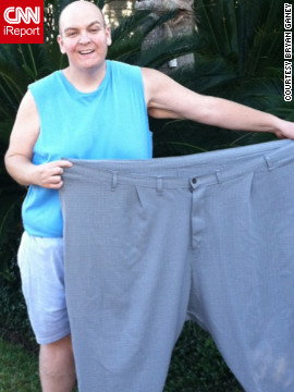 A careful diet and lots of exercise allowed Bryan to drop 130 pounds in the first six months.