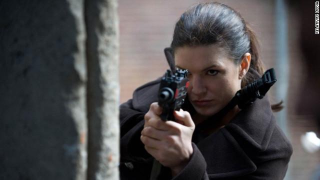 Gina Carano stars in