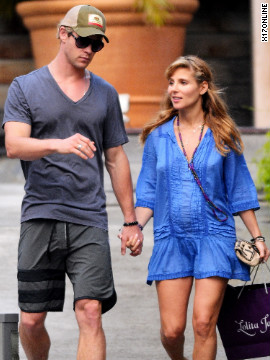 Chris Hemsworth and Elsa Pataky roam around Saint Barthelemy.