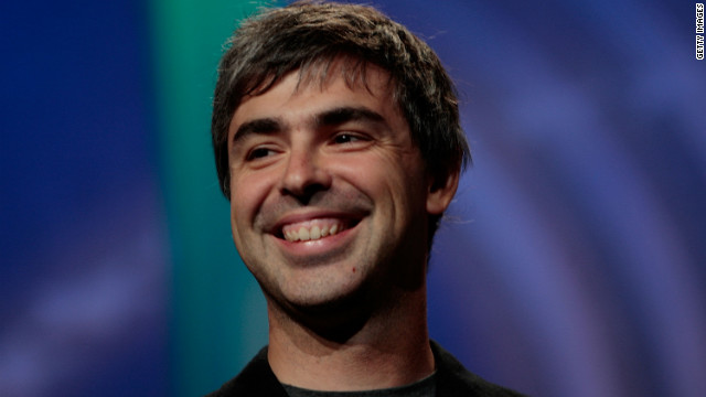 Google CEO Larry Page announced that the company's social network, Google+, is off to a strong start.
