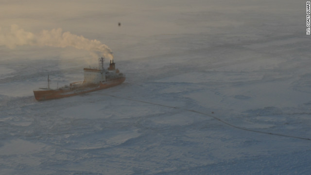 Fuel delivery to icebound Alaskan town complete