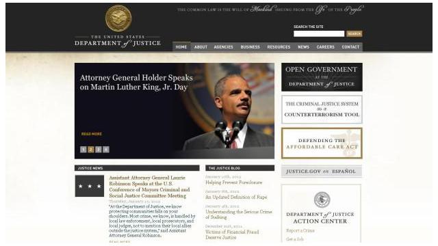 Los sitios del gobierno de EE.UU. atacados por Anonymous ya están en línea