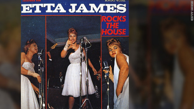 "<br/>The singer released her first live album, ""Etta James Rocks the House,"" in 1964."
