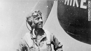 Herbert Carter deployed to war in 1943. He named his plane \