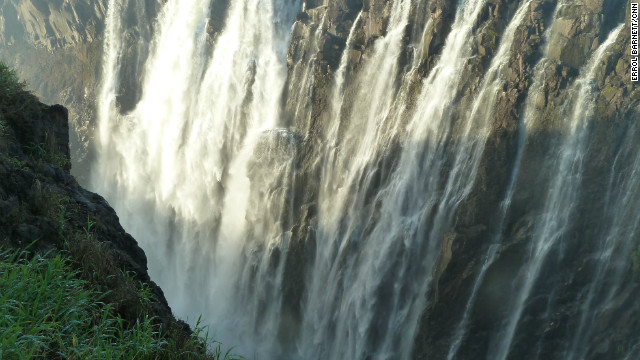 Victoria Falls in all their splendor.