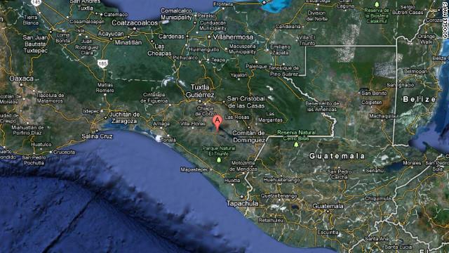 Sismo de magnitud 6,2 frente a las costas de Chiapas