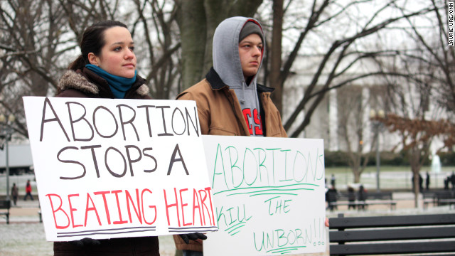 CNN Poll: Wide divide over abortion