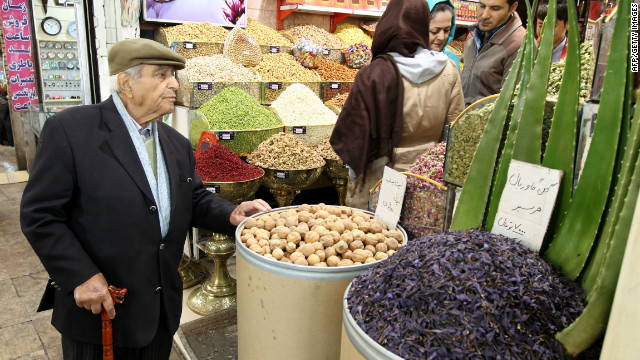 Ordinary Iranians have been struggling with accelerated inflation as sanctions begin to bite.