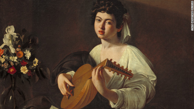 Also included in the 180-item exhibit in Spain is &quot;Lute Player,&quot; by Caravaggio. 