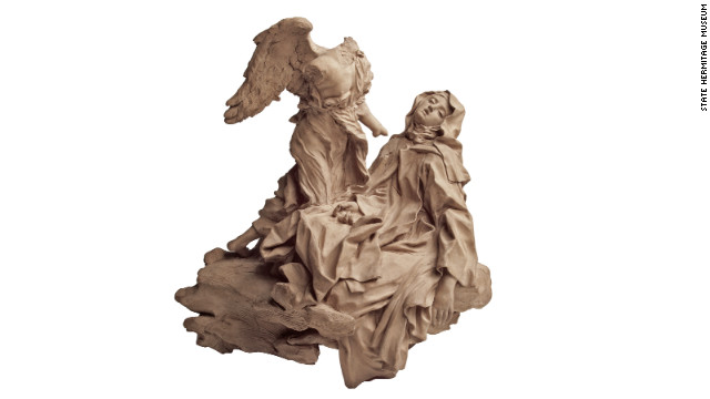 A terracotta sculpture by Gian Lorenzo Bernini, dating from around 1647, is one of the highlights of the exhibition &quot;The Hermitage in the Prado.&quot;