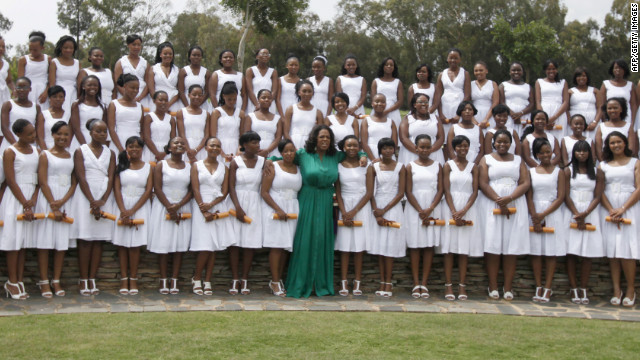 <br/>The 72 graduates are heading to prestigious universities in South Africa and the United States.