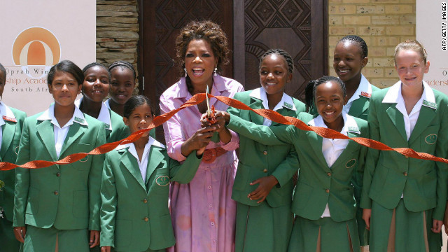 <br/>Winfrey opened the $40 million school on January 2 2007 in Henley-on-Klip near Johannesburg.