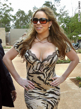<br/>Singer Mariah Carey was among the celebrities attending the opening of the school in 2007.