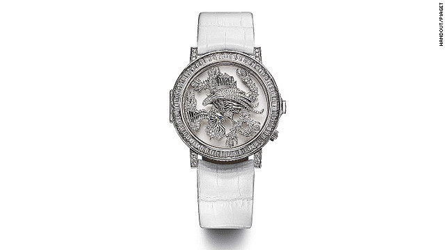 Watchmaker Piaget's Altiplano Double Jeau 43 mm in 18-carat white gold is part of its Dragon and Phoenix collection made exclusively for Chinese New Year.