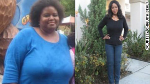 Chiquita Seals said she lost 125 pounds with the emotional support offered by her small group.