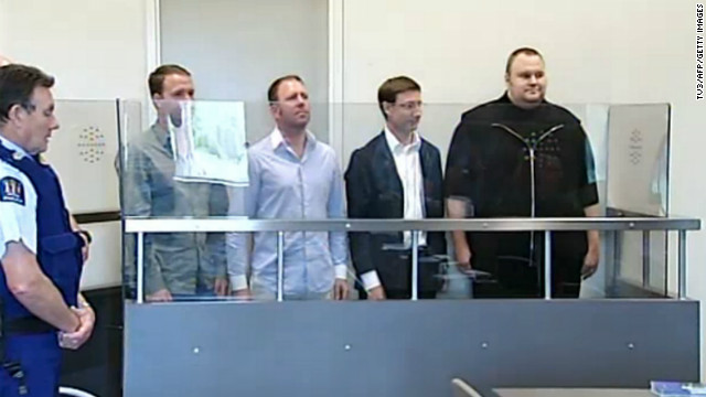 Megaupload founder appears in New Zealand court seeking bail