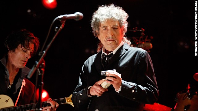 Bob Dylan, here at the Critics' Choice Movie Awards in January, appeared in a Fiat Chrysler ad aired during the Super Bowl.