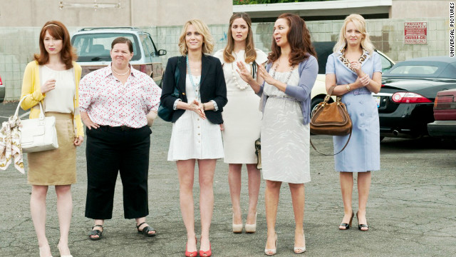 Could 'Bridesmaids' snag an Oscar nod?