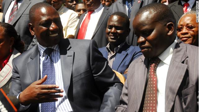 La Corte Penal Internacional juzgará a cuatro funcionarios de Kenya