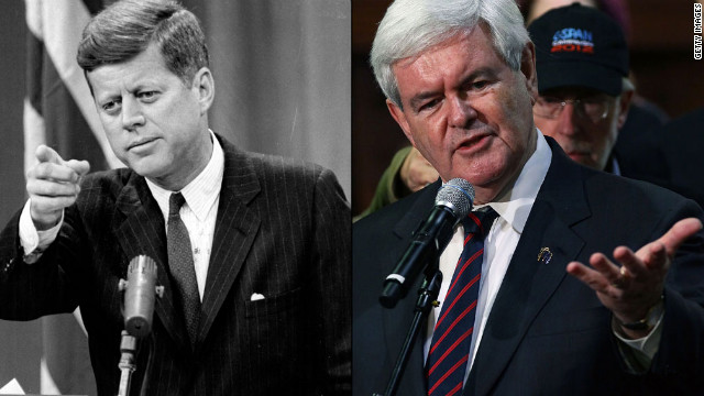 Gingrich promises JFK-like space speech