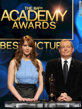 <br/>The Academy of Motion Picture Arts and Sciences announced its nominees for the 84th annual Academy Awards on Tuesday. Tune in to the awards show on February 26 to see which of these nine best picture nominees will take home the Oscar.