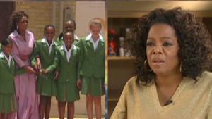 Oprah's first academy grads