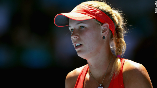 Wozniacki's wait for her first grand slam title continues following her quarterfinal defeat by defending champion Kim Clijsters at this year's Australian Open.
