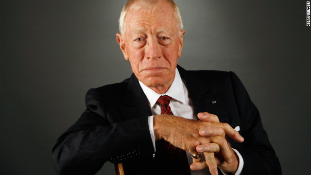 Max von Sydow speaks out on Oscar nomination