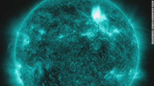 NASA says it may also spark an unusually large display of auroras, which may be visible at lower latitudes than normal.