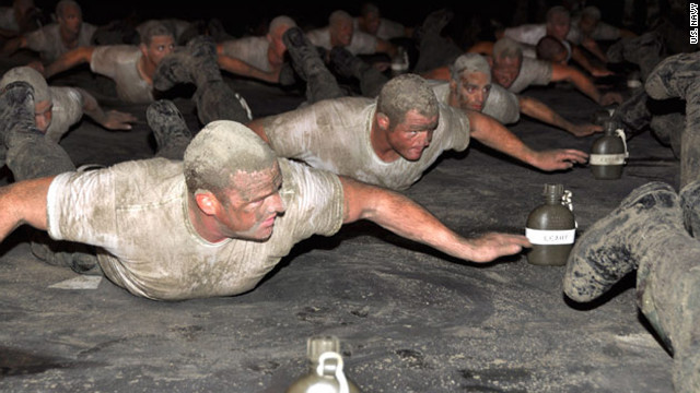 Hell Week, five days of training, is all about getting and staying dirty, wet, cold and hungry.