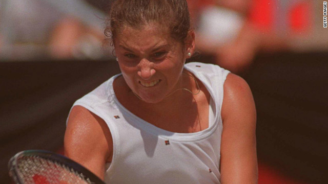 Monica Seles was screaming her way to success long before any of today's professionals. The Yugoslavia-born American won nine grand slam titles during her 19-year ear-splitting career.