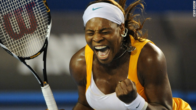 American Serena Williams has long been a leading light in women's tennis, in terms of winning tournaments and booming grunts. Whether the grunts benefit a player is the subject of some debate, but they certainly haven't hindered Williams. The 30-year-old has registered 13 grand slam triumphs.