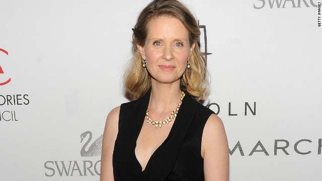 Cynthia Nixon: Bisexuality is not a choice