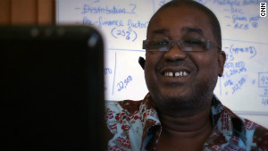 Ghanaian innovator Herman Chinery-Hesse.