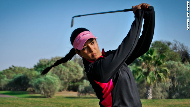 Haddioui is determined to forge a successful career on the major golf tours of the world and win Olympic gold.