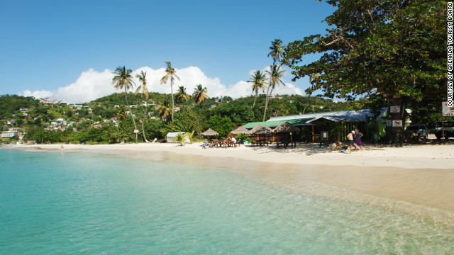 Grenada, consisting of seven tropical islands, offers plenty options for a relaxing beach holiday.