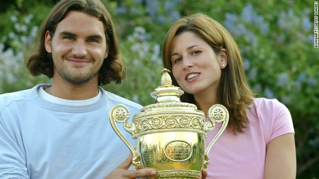 Roger Federer met Mirka Vavrinec at the Sydney Olympics in 2000 when they both represented Switzerland. Mirka says her husband's glittering career has eased her pain after injury forced her retirement in 2002. Of his wife, Roger told the Telegraph newspaper: &quot;I developed faster, grew faster with her. I owe her a lot.&quot;