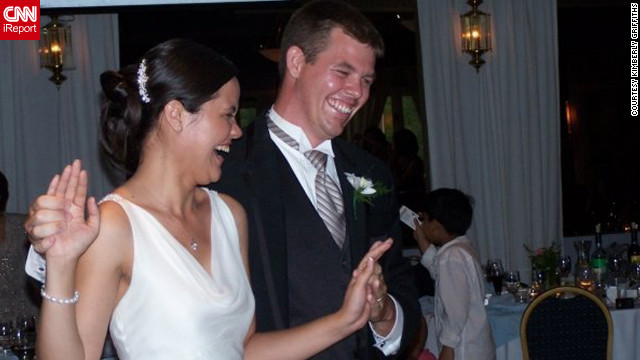 After nine years of dating, Kimberly Griffiths and Richard Cicciarelli chose