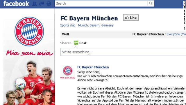 Una estrategia publicitaria enfurece a los seguidores del Bayern Munich