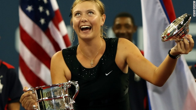 In 2006, Sharapova made heads turn with her &quot;Little Black Dress&quot; -- an outfit encrusted with beaded crystals which she wore as she claimed the U.S. Open crown. 