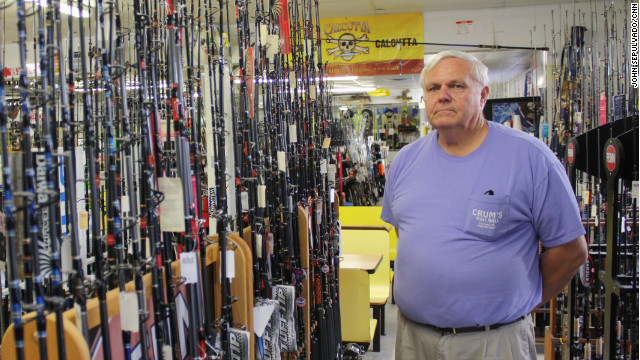Business owner Ron Crum calls Mitt Romney an