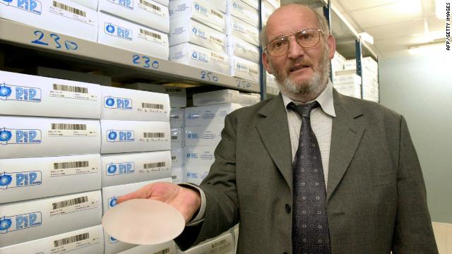 Detienen en Francia al fabricante de los implantes de senos PIP