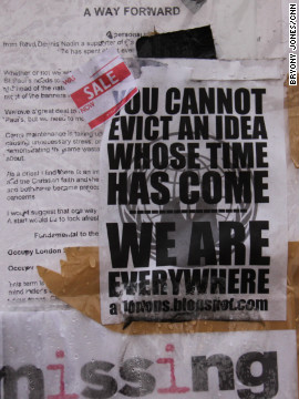Those behind the Occupy London protest say the movement will continue in the weeks, months and years ahead -- whether or not the original camp at St Paul's survives.